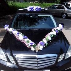 свадебный наряд для авто